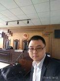 2017年4月5日杨贝贝律师在庭审现场照