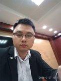 2018年3月27日杨贝贝律师在庭审现场照